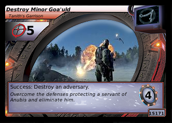 Destroy Minor Goa'uld, Tanith's Garrison