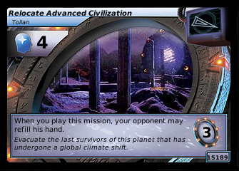 Relocate Advanced Civilization, Tollan