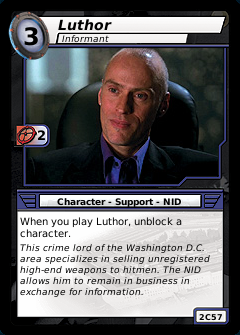 Luthor, Informant