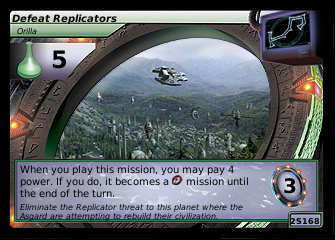 Defeat Replicators, Orilla