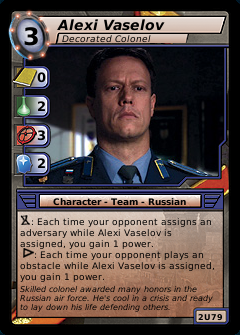 Alexi Vaselov, Decorated Colonel