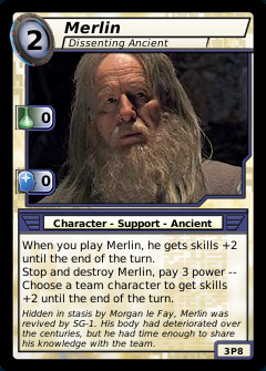 Merlin, Dissenting Ancient