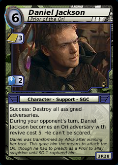 Daniel Jackson, Prior of the Ori