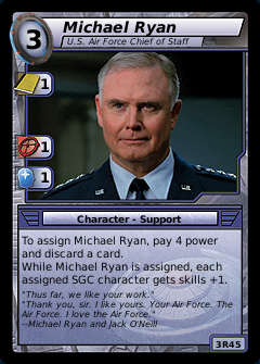 Michael Ryan, U.S. Air Force Chief of Staff