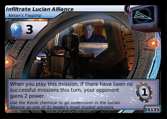 Infiltrate Lucian Alliance, Netan's Flagship