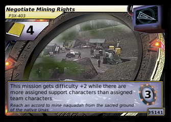 Negotiate Mining Rights, P3X-403