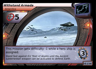 Withstand Armada, Antarctica