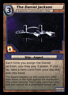 The Daniel Jackson, Supreme Commander's Ship